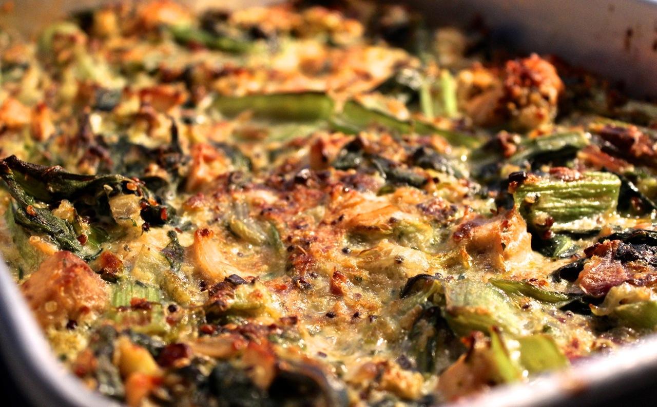 Recipe for tuna mornay pasta bake